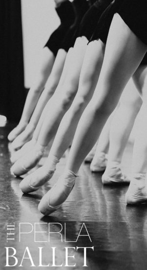The Perla Ballet Tendu at Barre